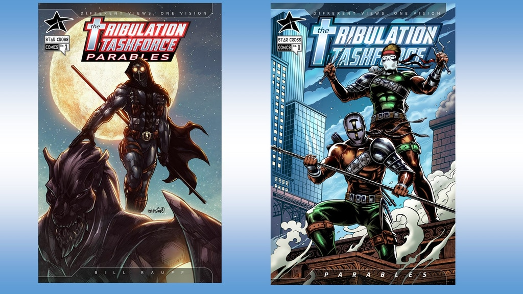 Tribulation Taskforce: Parables #1 & Back Issues project video thumbnail