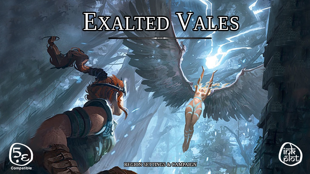 Exalted Vales: Region and Campaign Guide for D&D 5th edition project video thumbnail