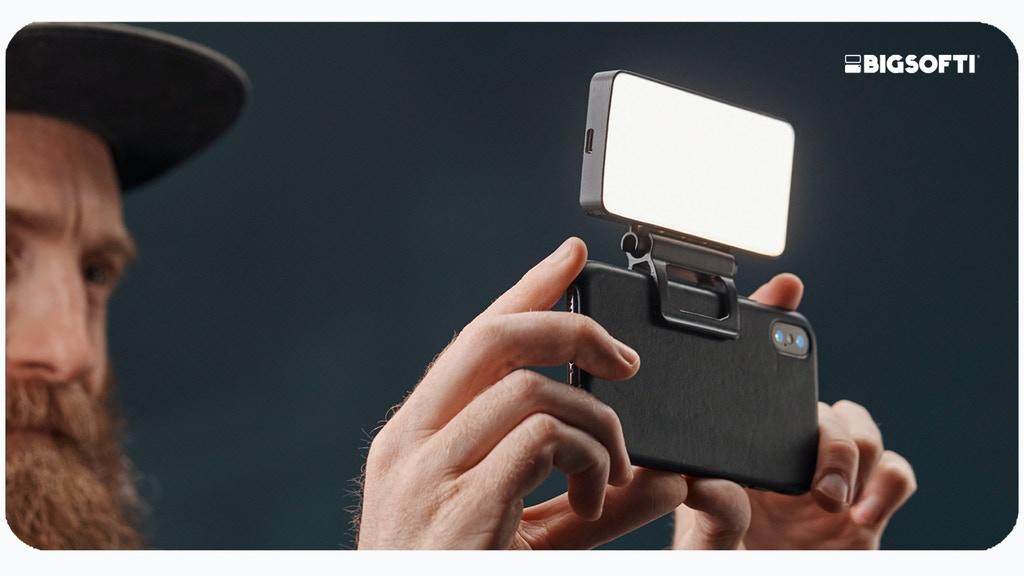 BIGSOFTI: A portable soft-light for better photos & video. project video thumbnail