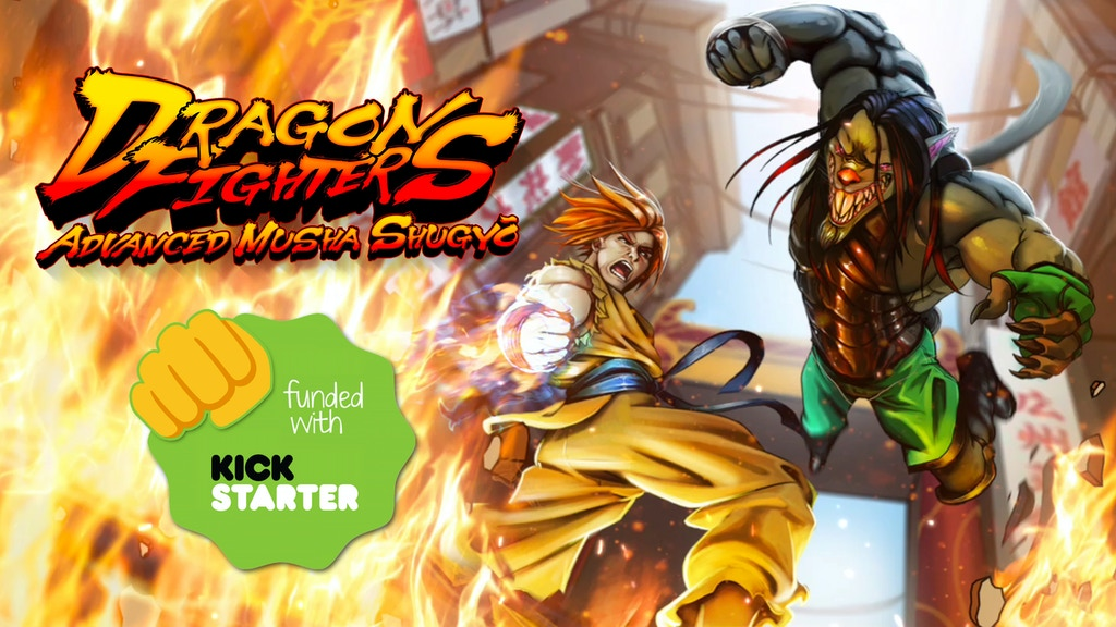 Dragon Fighters: Advanced Musha Shugyo RPG project video thumbnail