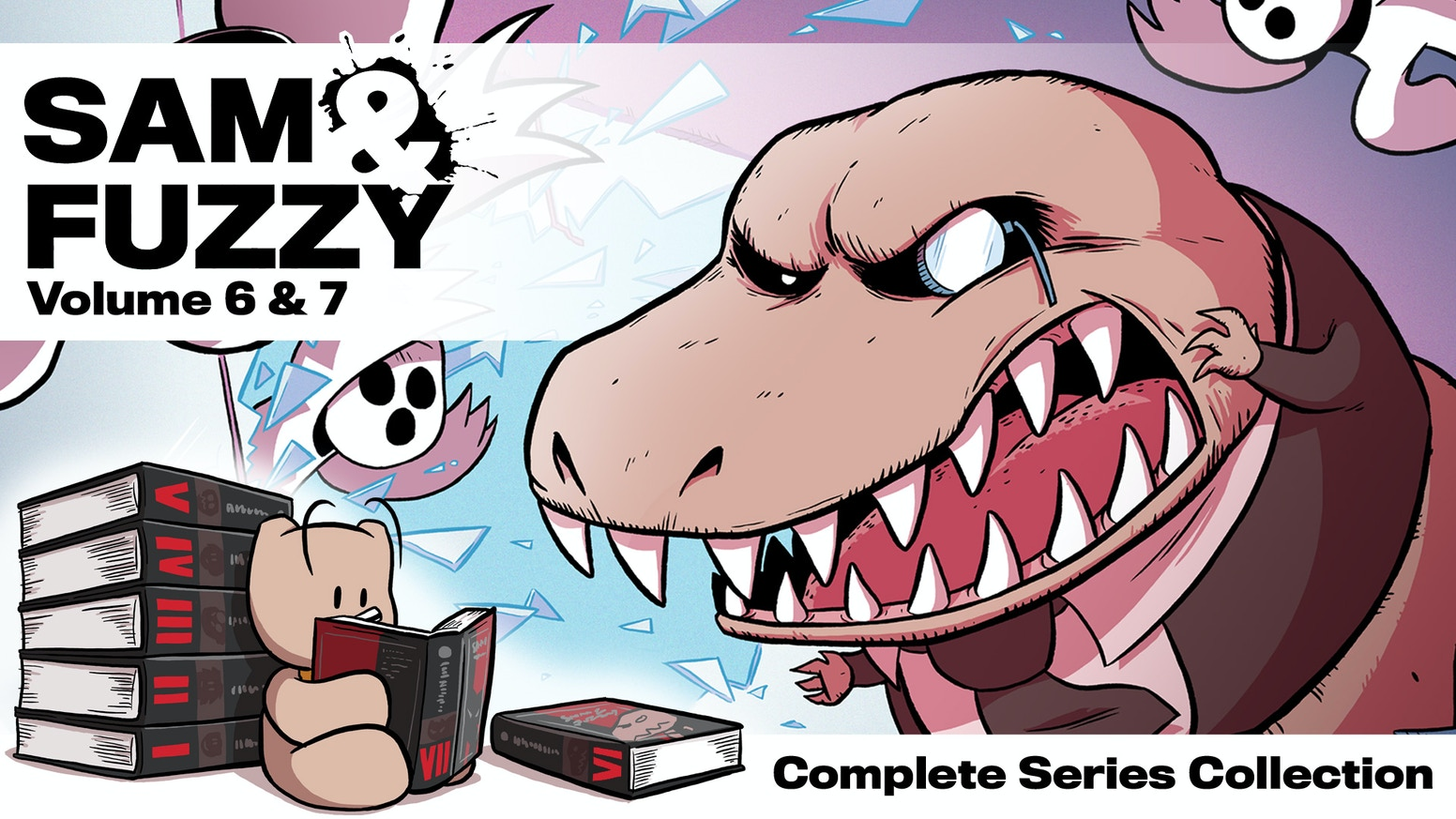 Sam & Fuzzy Book 6 and 7: Complete the Series