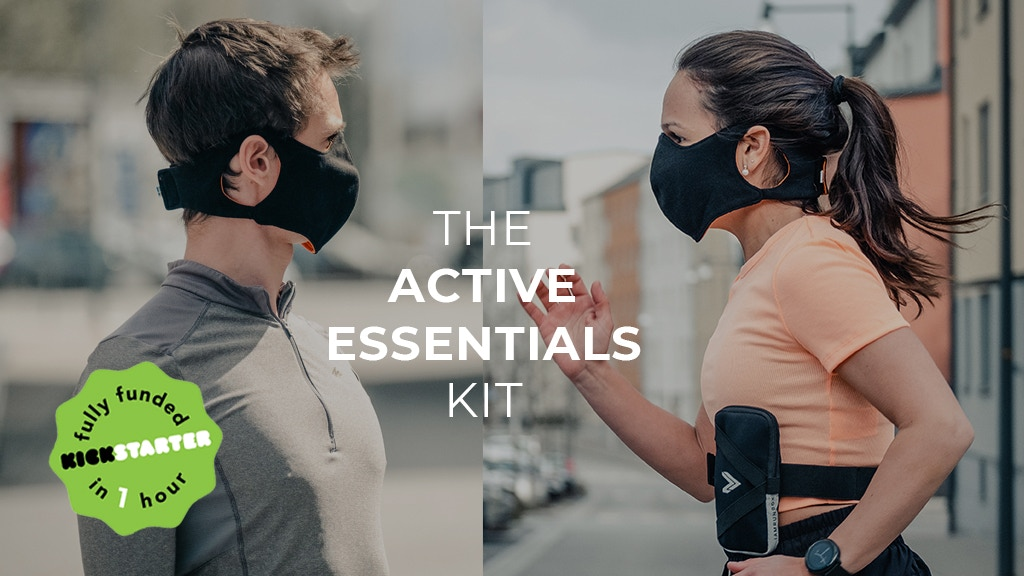 Active Essentials Kit: running armband, shopping bag & mask project video thumbnail