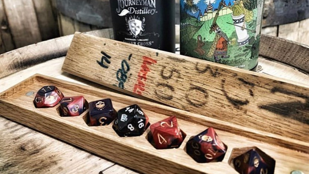 Project image for Whiskey Barrel Dice Vaults