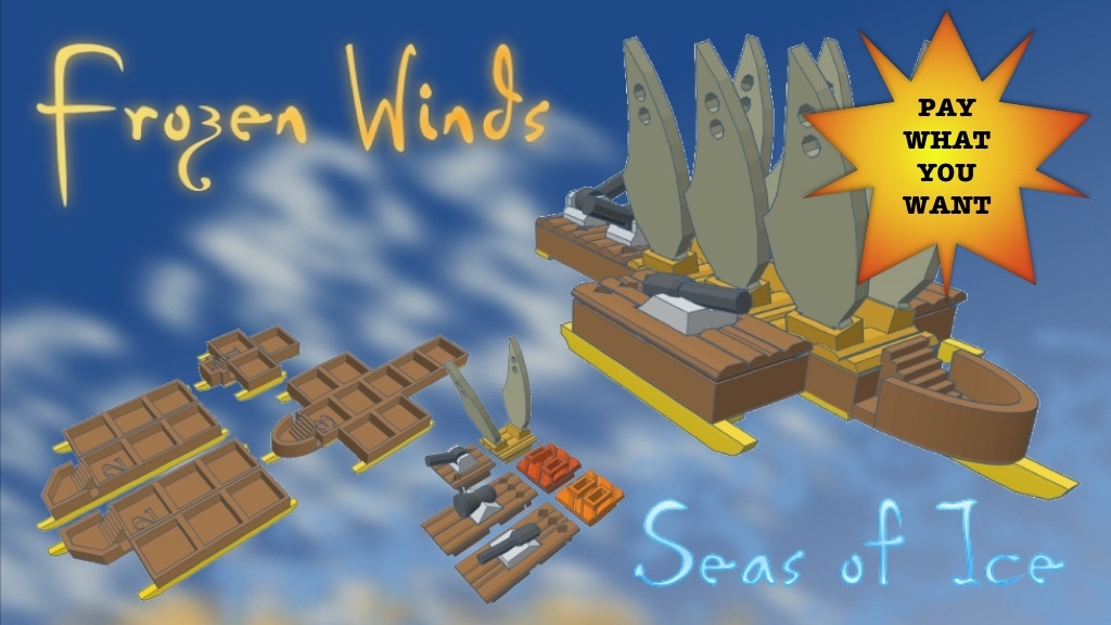 Frozen Winds: Seas of Ice project video thumbnail