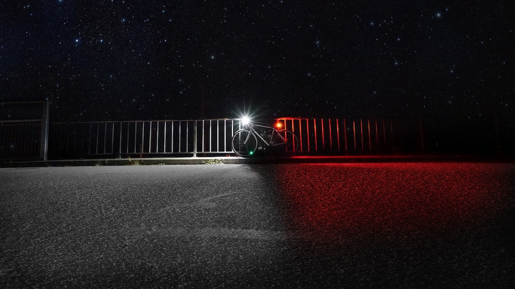 Project image for 360 bike lights - designed using bike safety research.