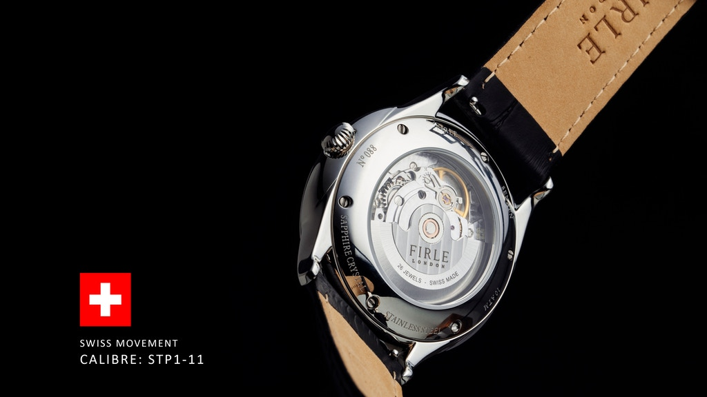 Sennen Automatic by Firle Watches - Swiss calibre: STP1-11 project video thumbnail