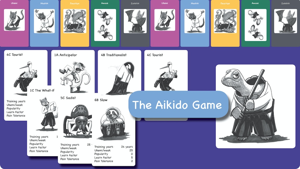 Project image for The Aikido Game