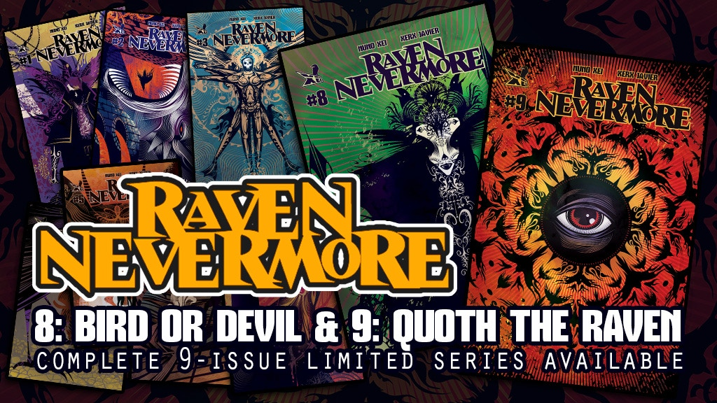 Project image for RAVEN NEVERMORE (Issues 8 & 9) - The Complete Limited Series