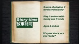 Create your own story: bilingual version thumbnail