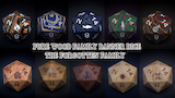 Pure Wood Family Banner Dice: The Forgotten Family thumbnail