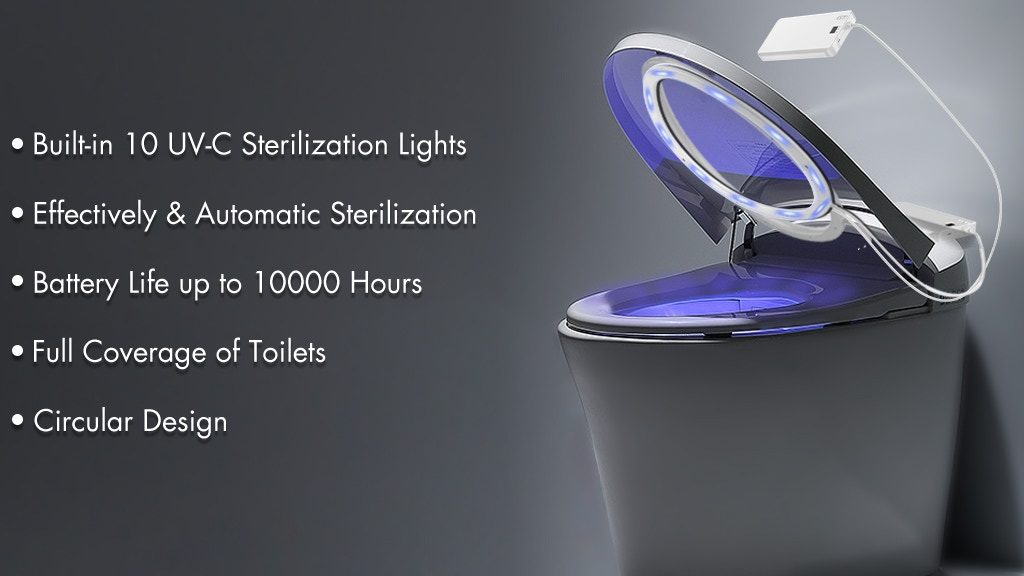 Protect-h: World's Most Powerful Toilet UVC Sterilizer