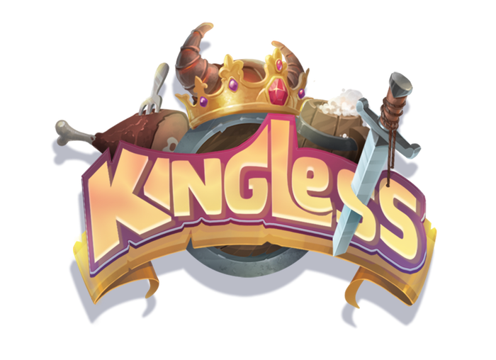 Kingless is a fast paced & easy to learn card game designed to capture the imagination as you and your friends compete to be King.
