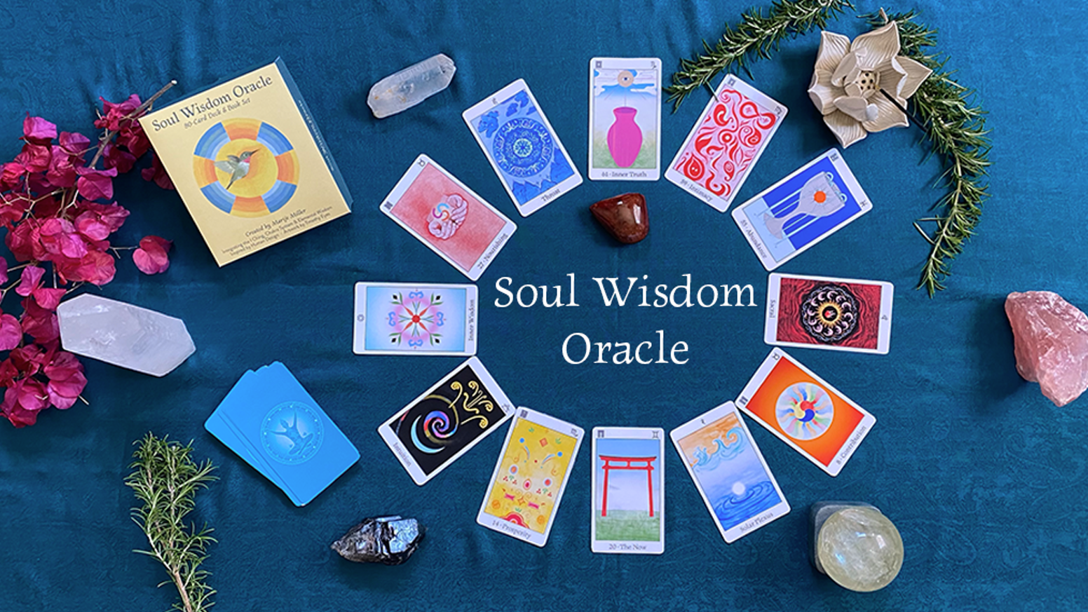 An innovative 80-card Oracle integrating I Ching, Chakra System and Elemental Wisdom, inspired by Human Design.