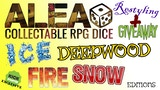 ALEA! Collectable RPG Dice PHASE01 Restyling and Giveaway! thumbnail