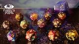 Starry universe dice D20 thumbnail