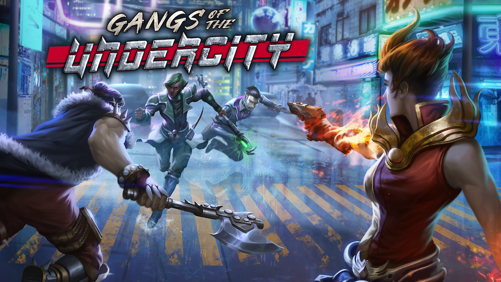 Gangs of the Undercity - a cyberpunk/fantasy skirmish game project video thumbnail