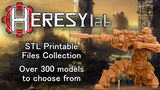 HeresyLab - Miniature Printable files - STL format thumbnail
