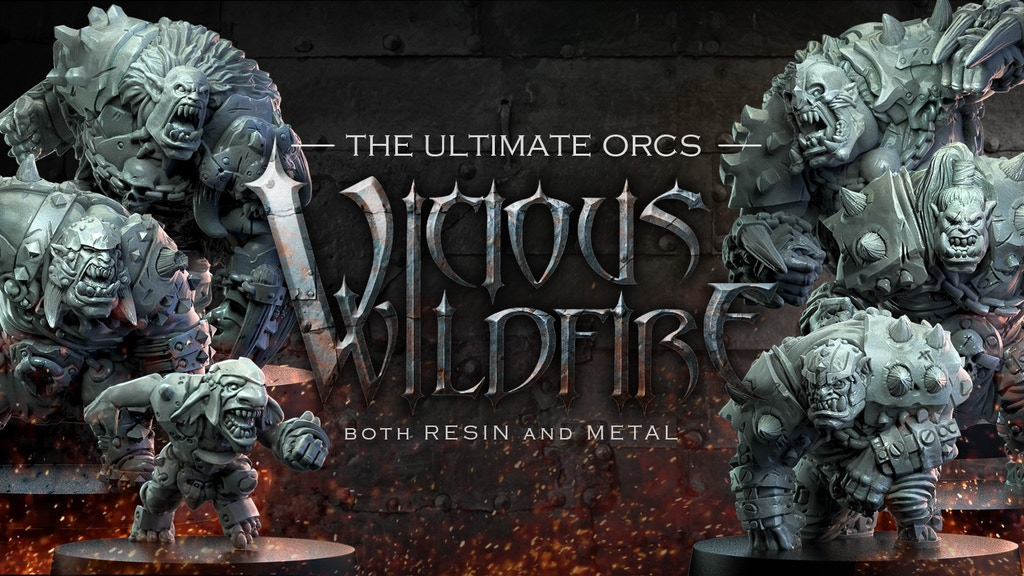 Vicious Wildfire: Orcs, Ferocity and Football project video thumbnail