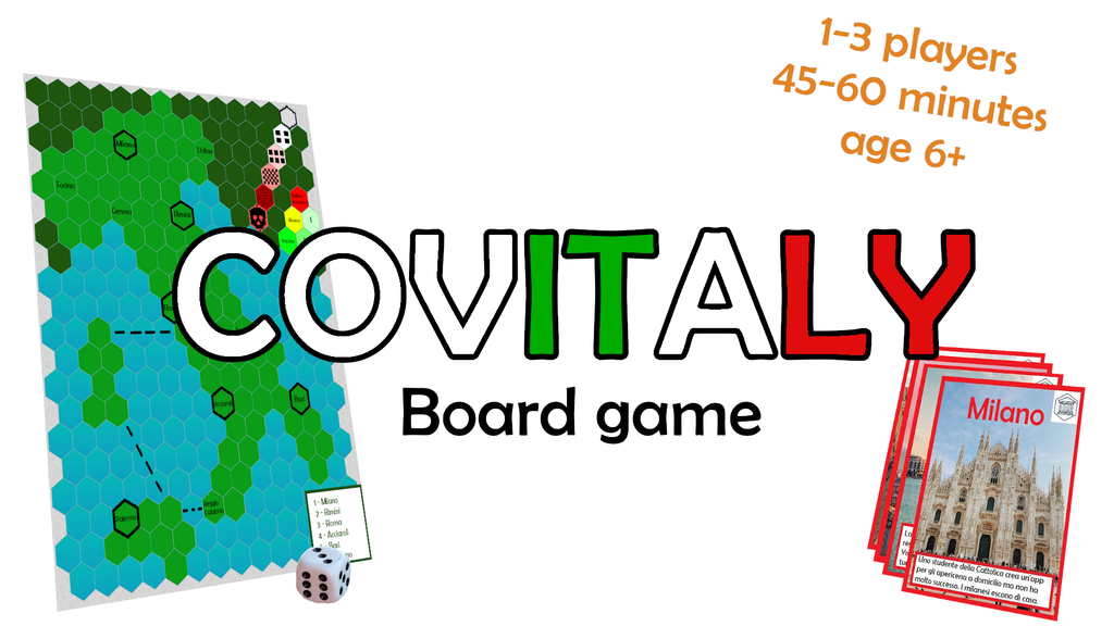 Project image for COVITALY: board game