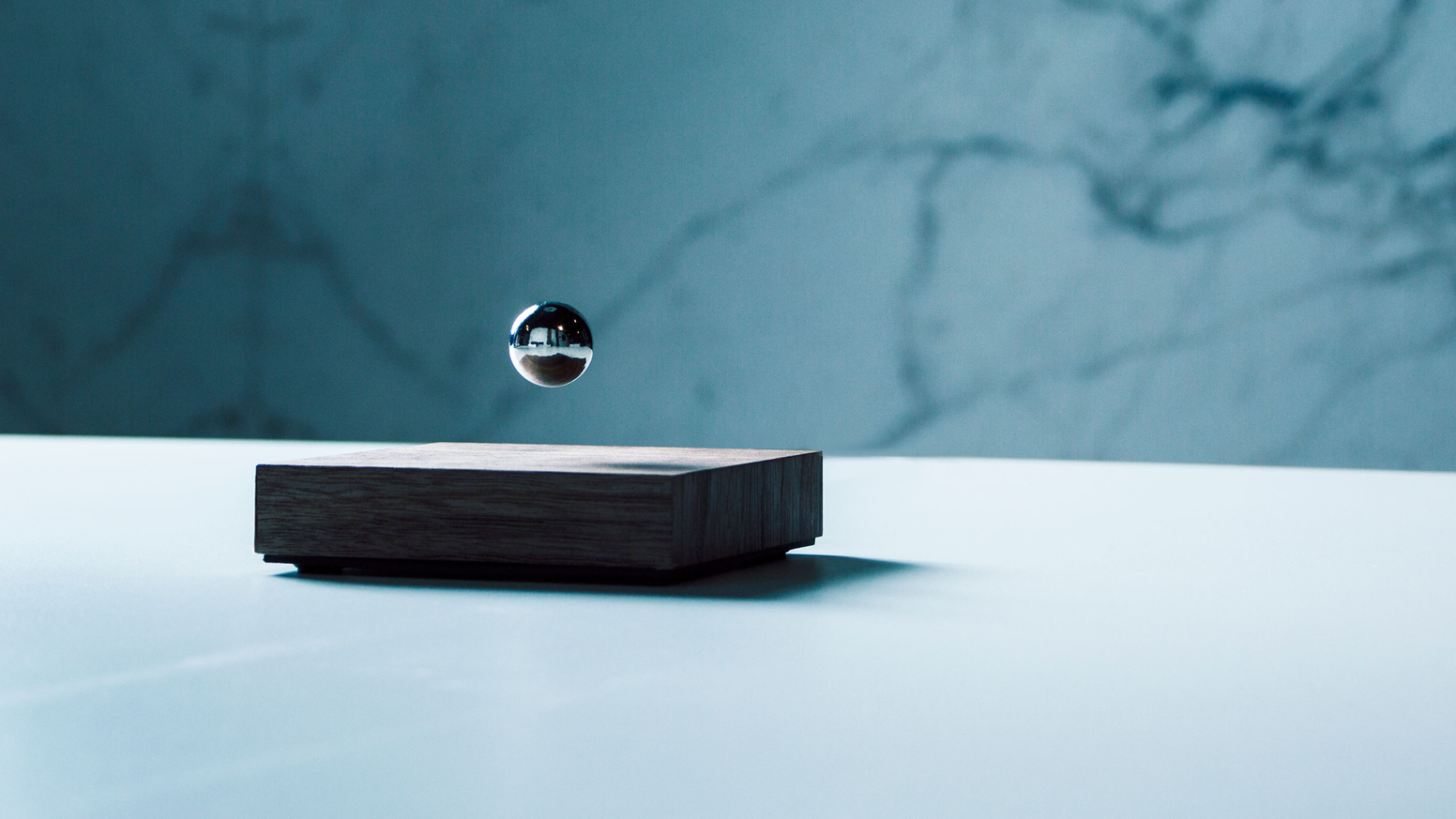 Visually mesmerizing, strangely satisfying, Buda Ball hovers in mid-air, reminding you to stay present.