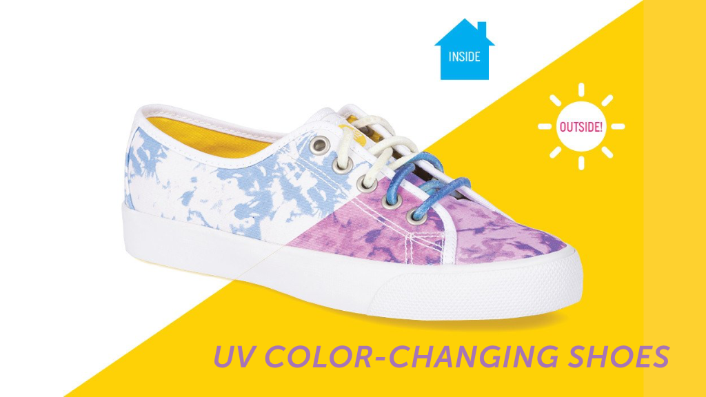 SUNS Shoes: Environmentally-Friendly Color-Changing Shoes