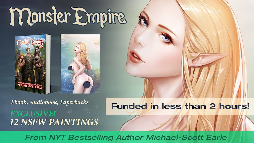 Project image for Monster Empire 2 -- Ebook, art, print, and audio