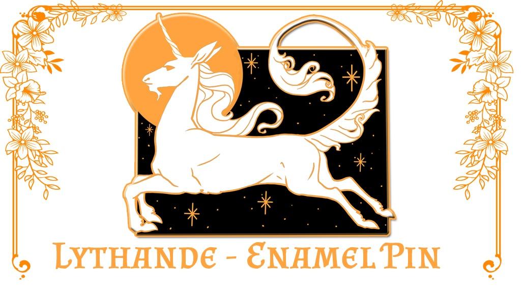 Lythande Unicorn Pin