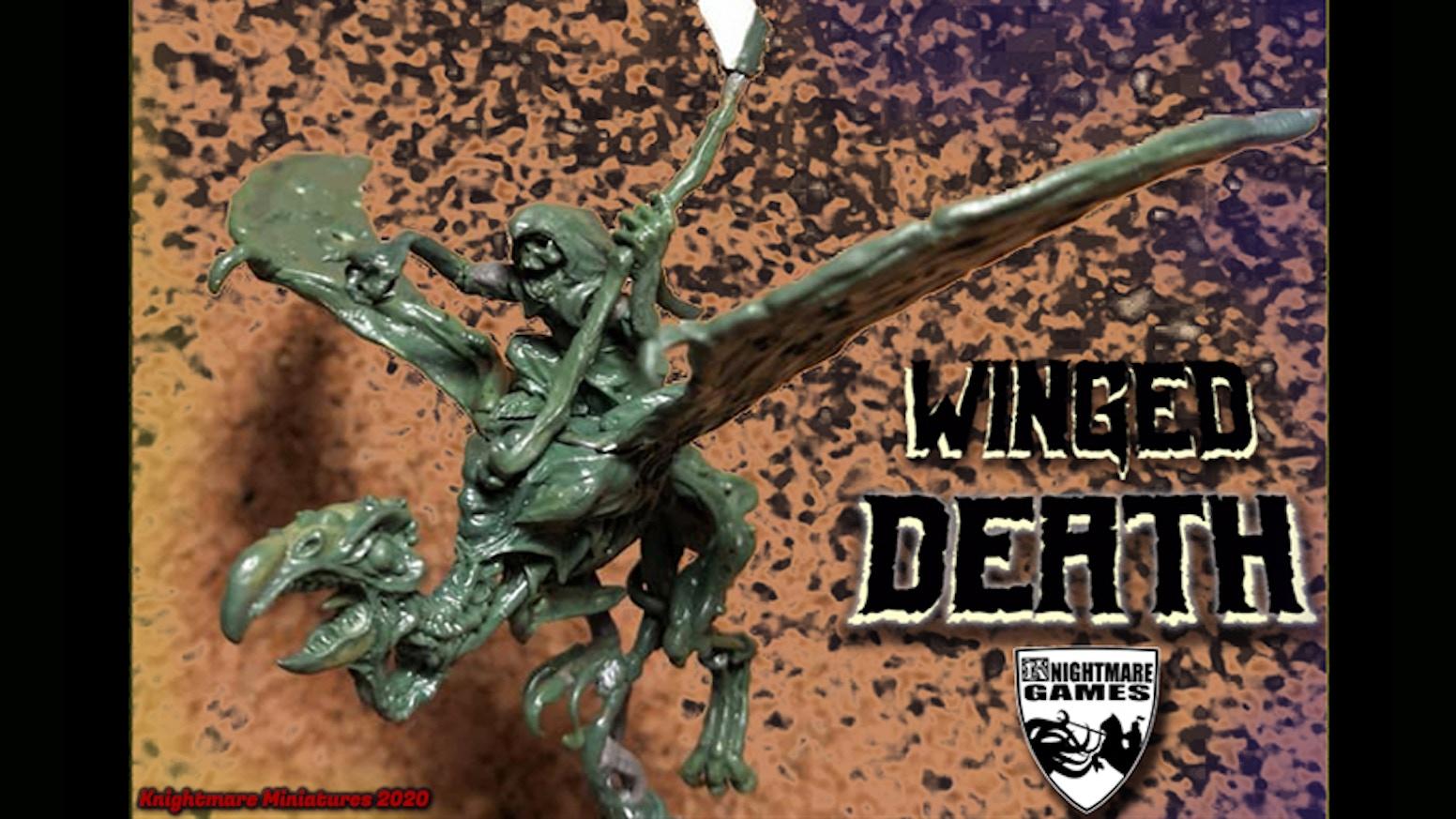 Fantasy metal miniatures of Undead winged creatures !