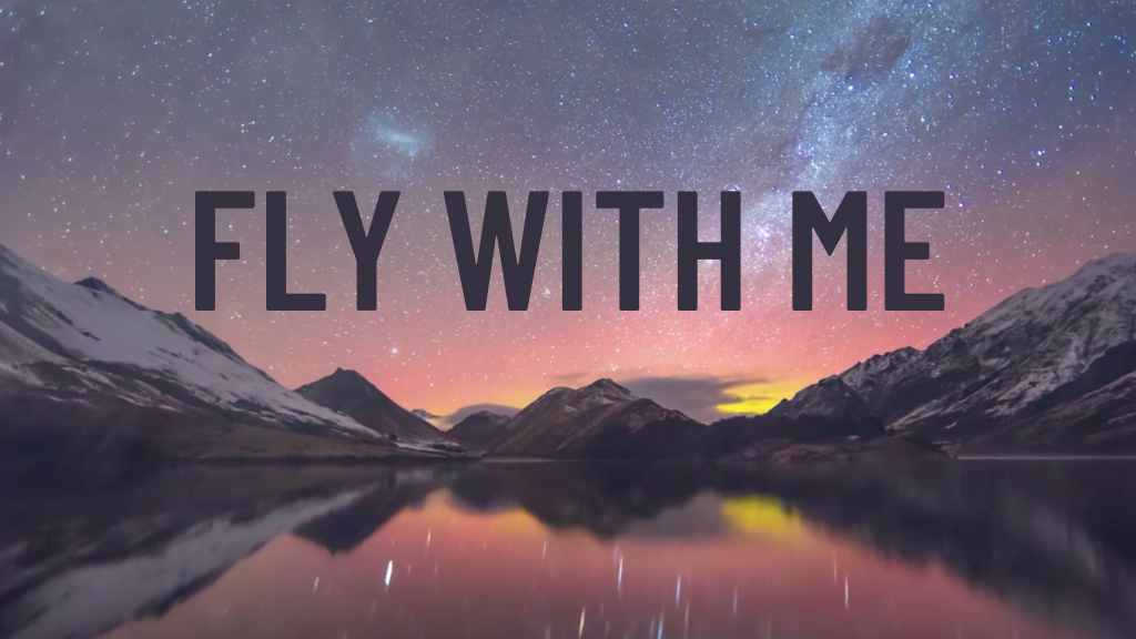 FLY WITH ME - Album Pre-Sale project video thumbnail