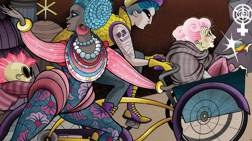 Trans-Galactic Bike Ride: Queer Feminist SFF Anthology project video thumbnail