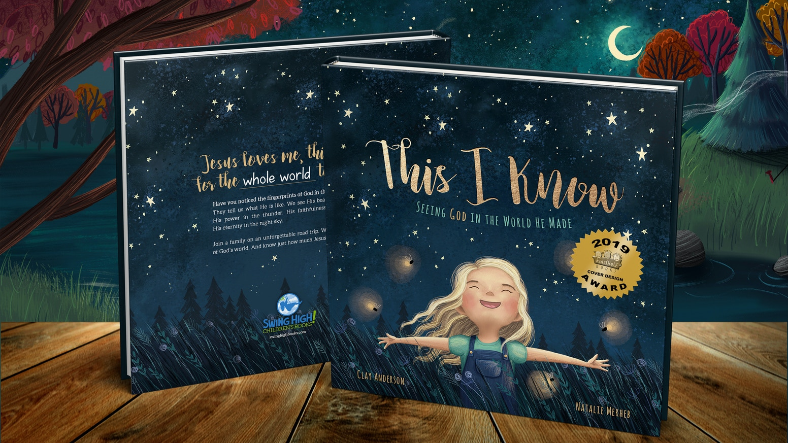 Discover the wonder of God's world together in this beautiful children's book—plus resources for families and churches. Successfully funded and releasing in November!