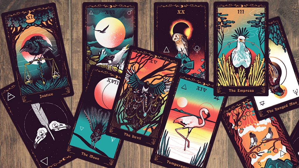 Track Occult Ornithology Tarot's Kickstarter campaign on ...