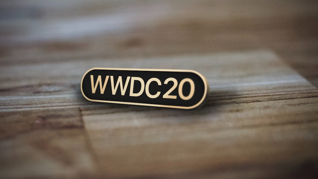 Pin Set for WWDC 2020 project video thumbnail