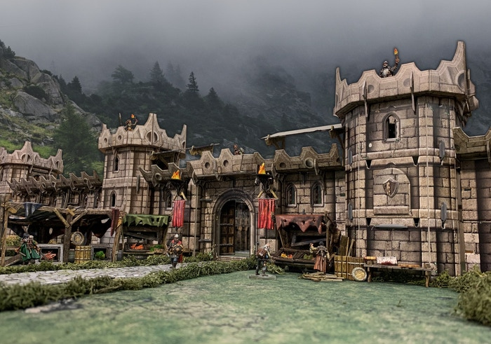 Fantasy and Historical 28-35mm Gaming Terrain - No Painting Required!