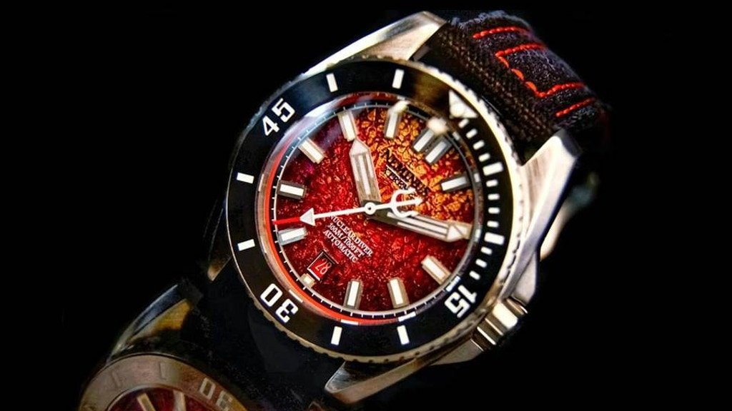 Neminus Xtreme Diver 300 : Watches Built For Those Who Dare! project video thumbnail