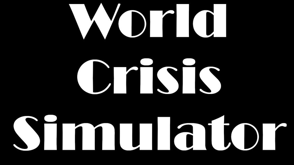 Project image for World Crisis Simulator