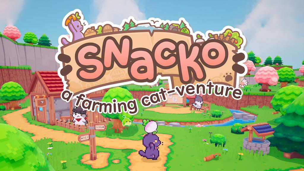 Miniature de la vidéo du projet Snacko: A Farming Adventure Sim for PC