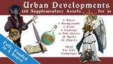 5e Urban Developments - Subclasses, Items, Races, & Spells thumbnail