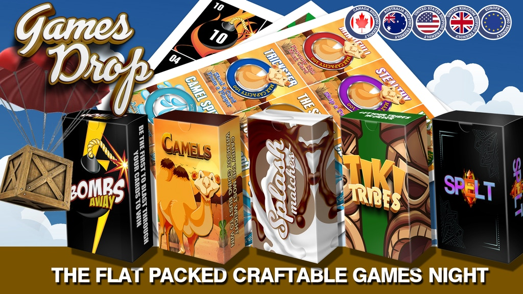 Games Drop: A Flat packed games night featuring 5+ games project video thumbnail