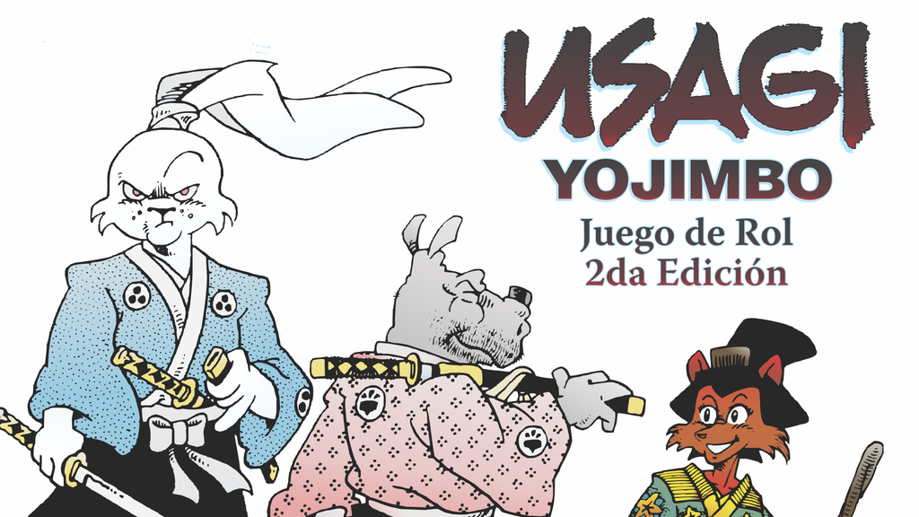 Project image for JdR de Usagi Yojimbo 2da Ed. en ESPAÑOL (Canceled)