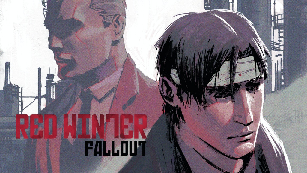 RED WINTER: FALLOUT #1 - A Crime Noir Comic Book Thriller project video thumbnail