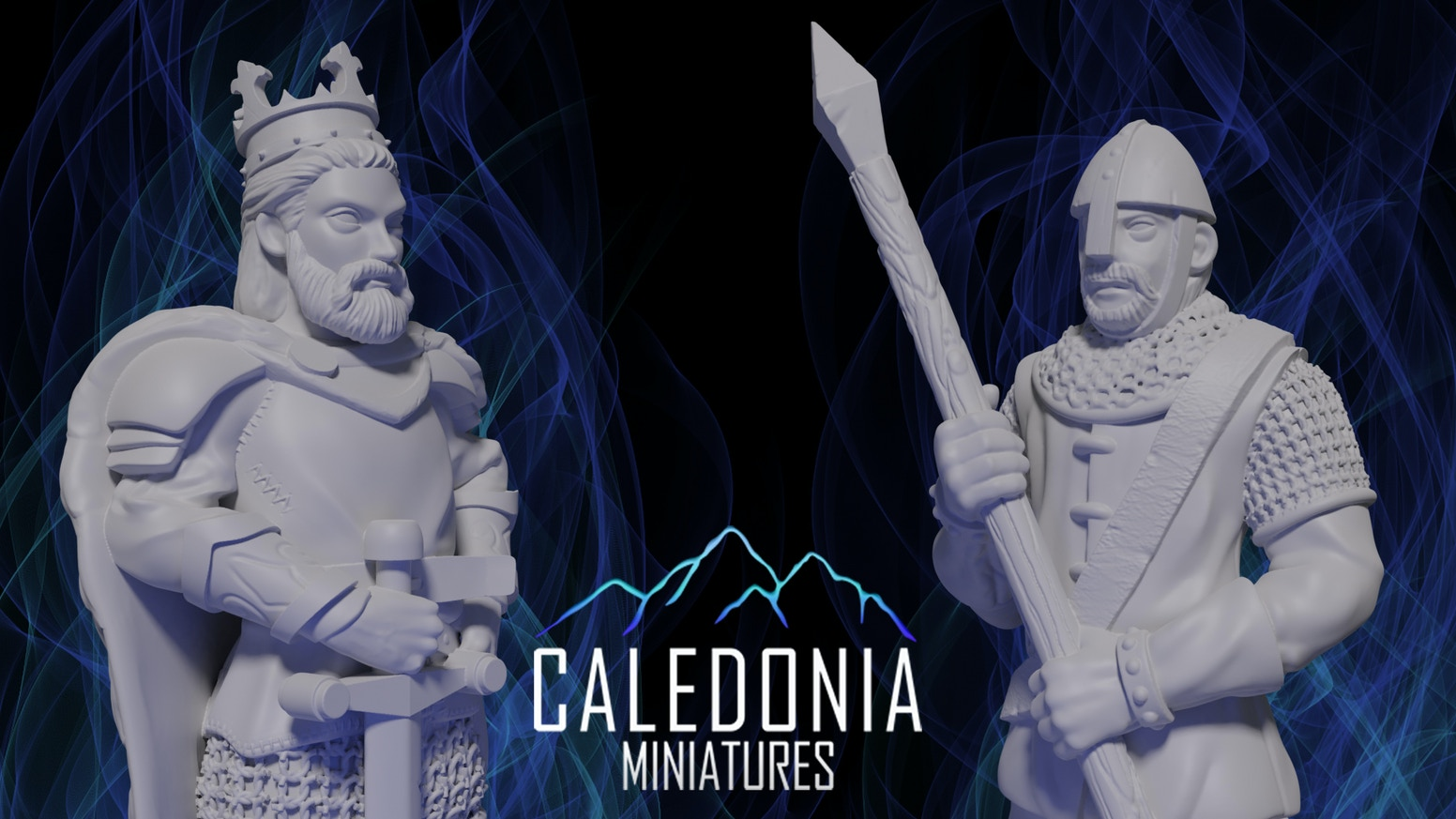 3D Printable STL Miniatures for Role Playing Tabletop Games