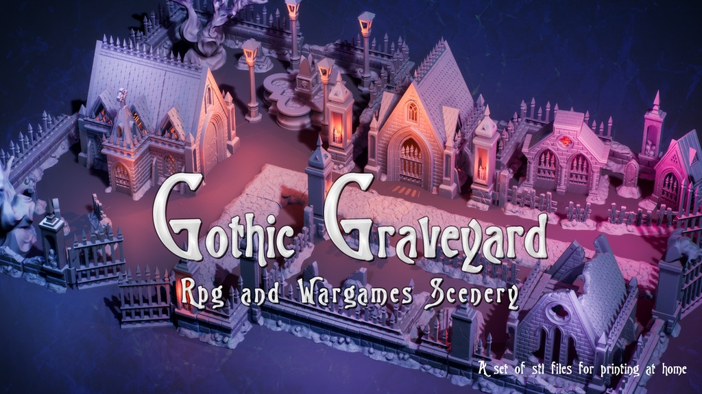 Gothic Graveyard project video thumbnail