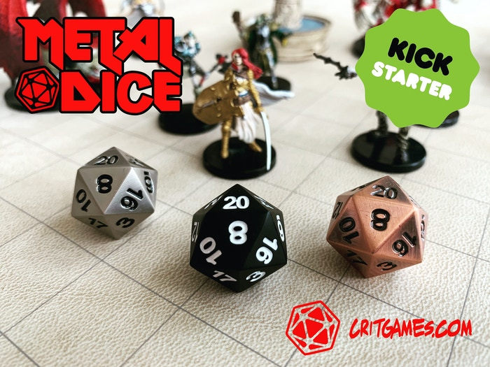 Roll with style for your DnD, Pathfinder, Savage Worlds, or other RPG tabletop game!