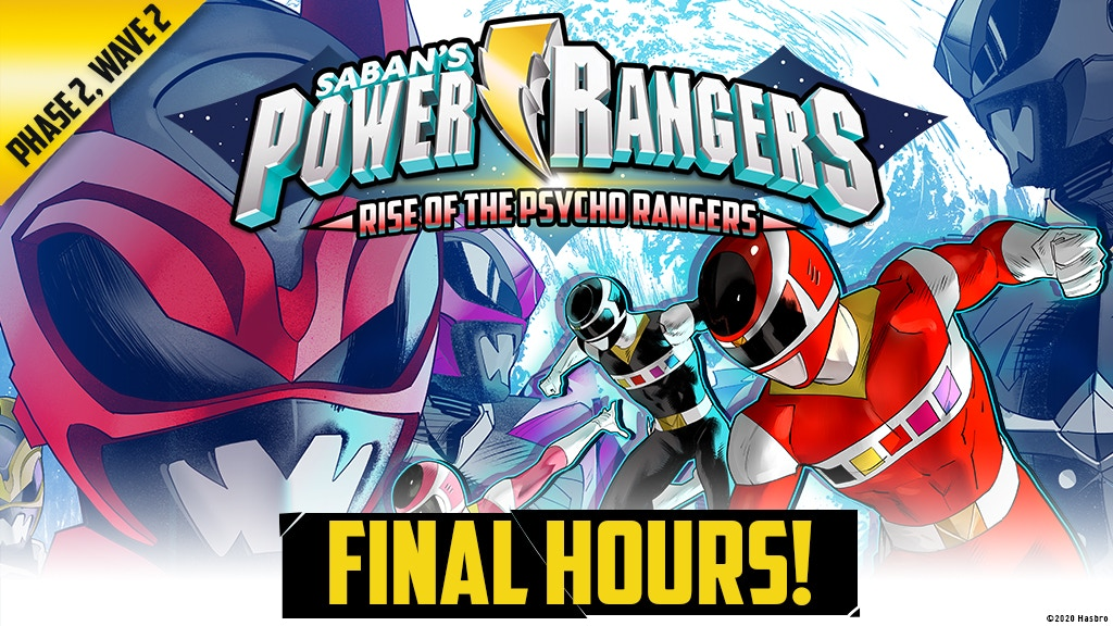 Power Rangers: Heroes of the Grid Rise of the Psycho Rangers project video thumbnail