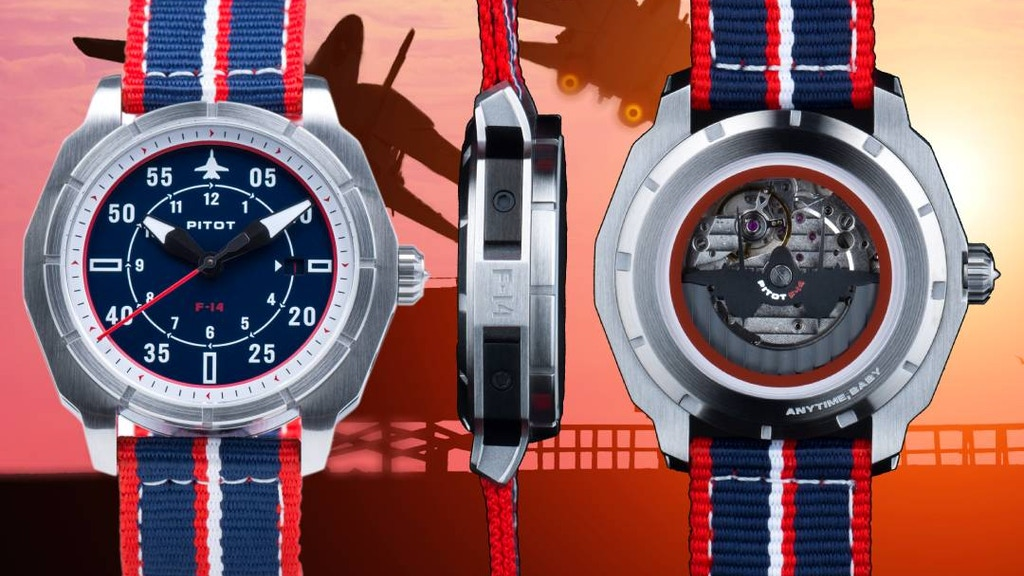 PITOT - F-14 Tomcat inspired watches project video thumbnail