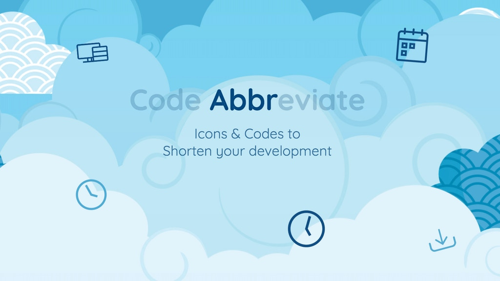Project image for Abbr: Shorten your development