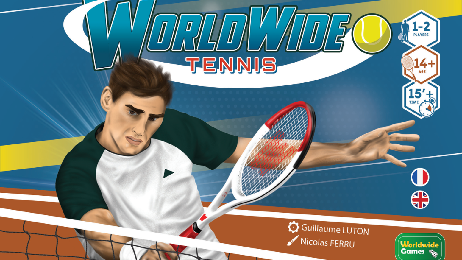 Tennis like you've never played before !