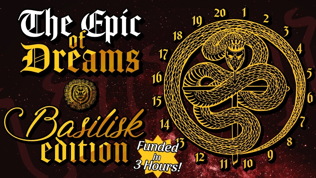 The Epic of Dreams RPG: Basilisk Edition project video thumbnail