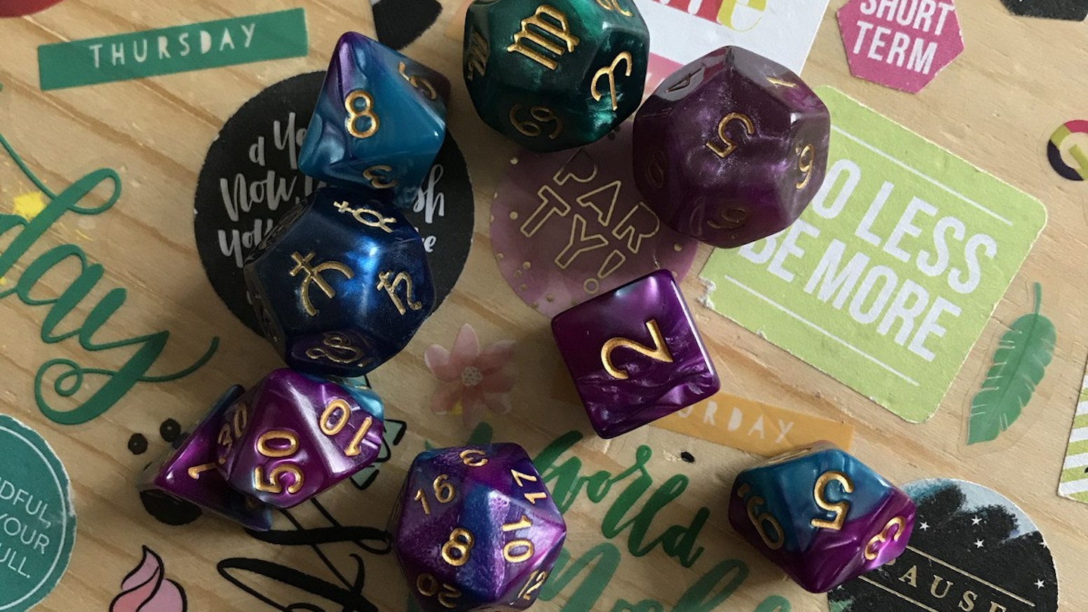 Dice Creation for Dice Divination Classes